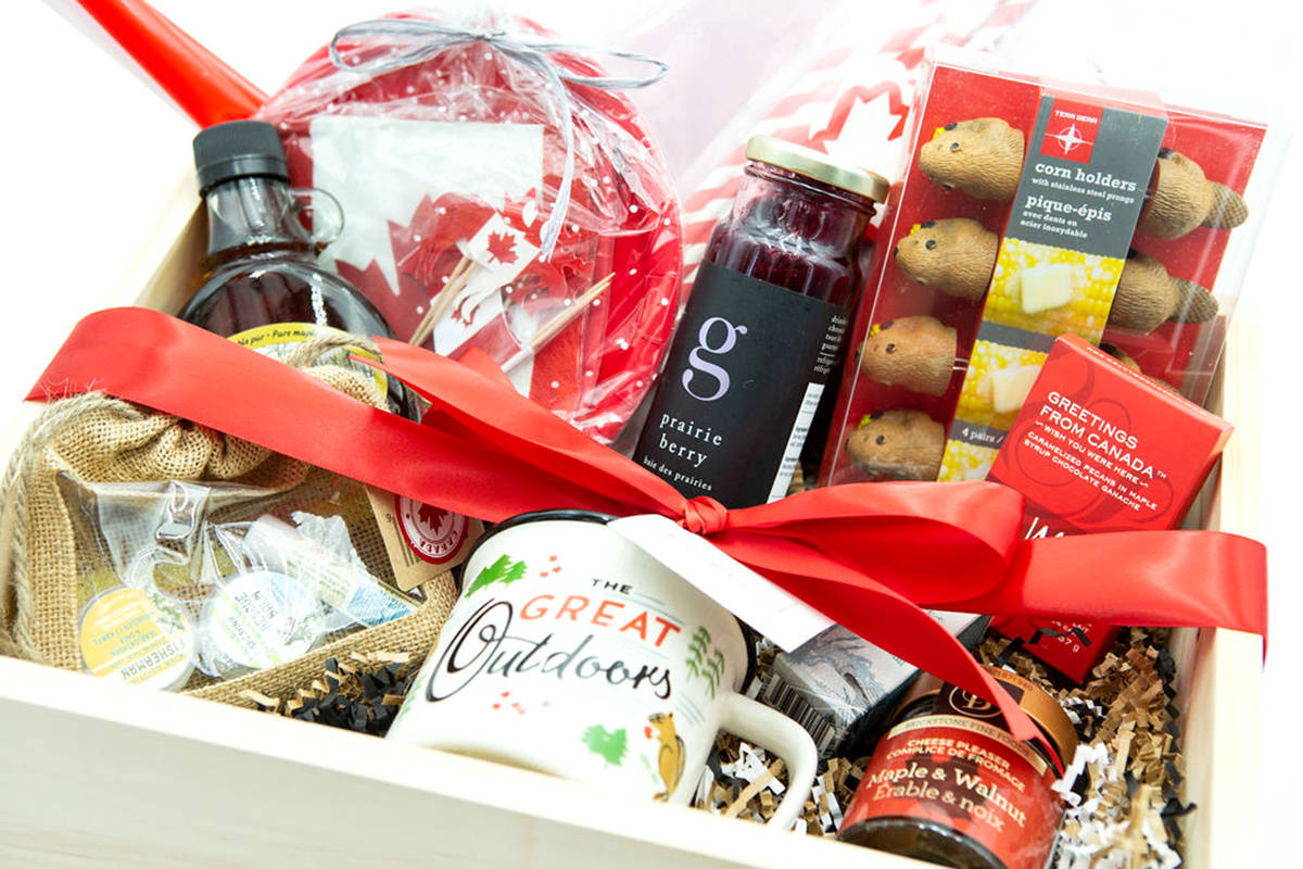 An example of a prize box that participants have won through The Finer Details in the past. (Special to The Star)