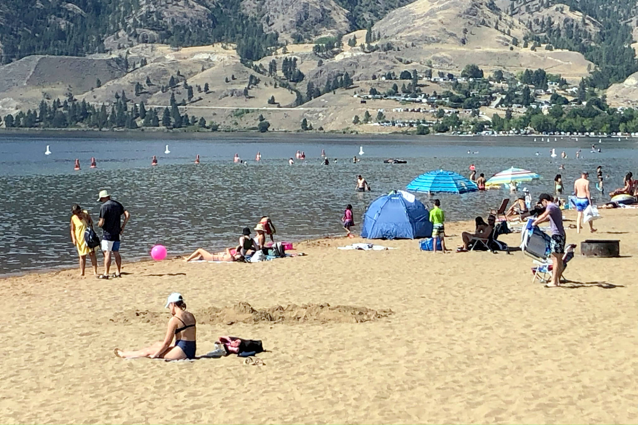 June is a time for spending long, sunny days at the beach. The beach at Skaha Lake in Penticton is one of many popular British Columbia beaches. (Black Press file photo)