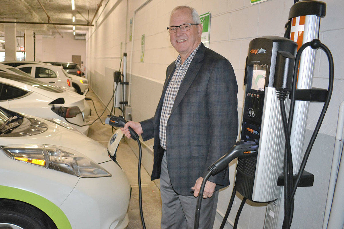 Langley Township continues to add EV chargers at its facilities. (Township file photo)