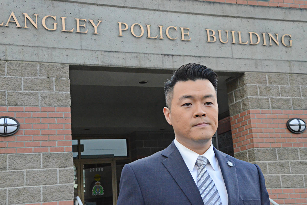 Sgt. Frank Jang provided some details about the fatal May 30 stabbing. (Langley Advance Times files)