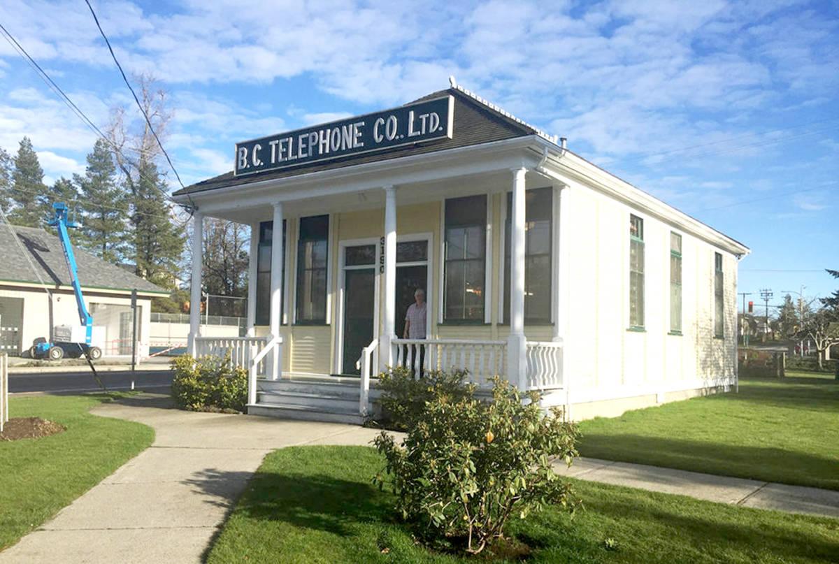 Alder Grove Heritage Society in located inside the Telephone Museum. (Aldergrove Star files)