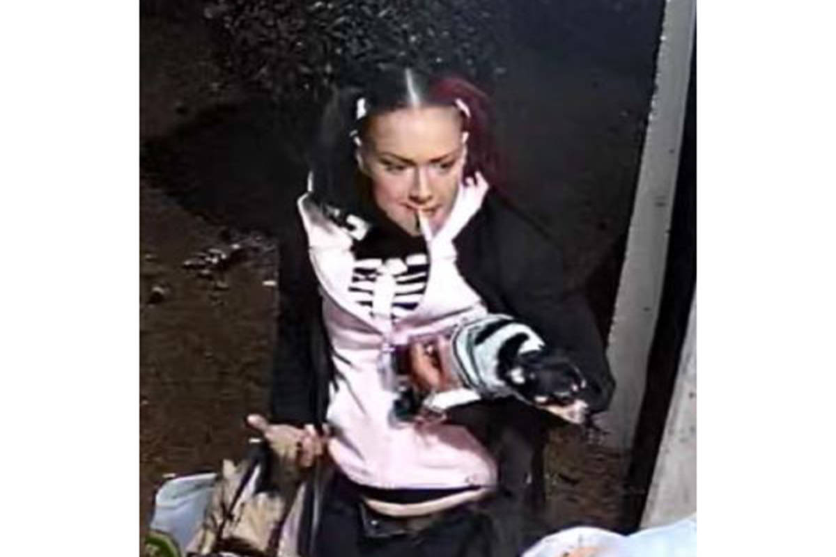 (Two of three) It is alleged the pictured trio broke into a mailbox in a condominium complex in Langley City on April 19th. (Special to Langley Advance Times)