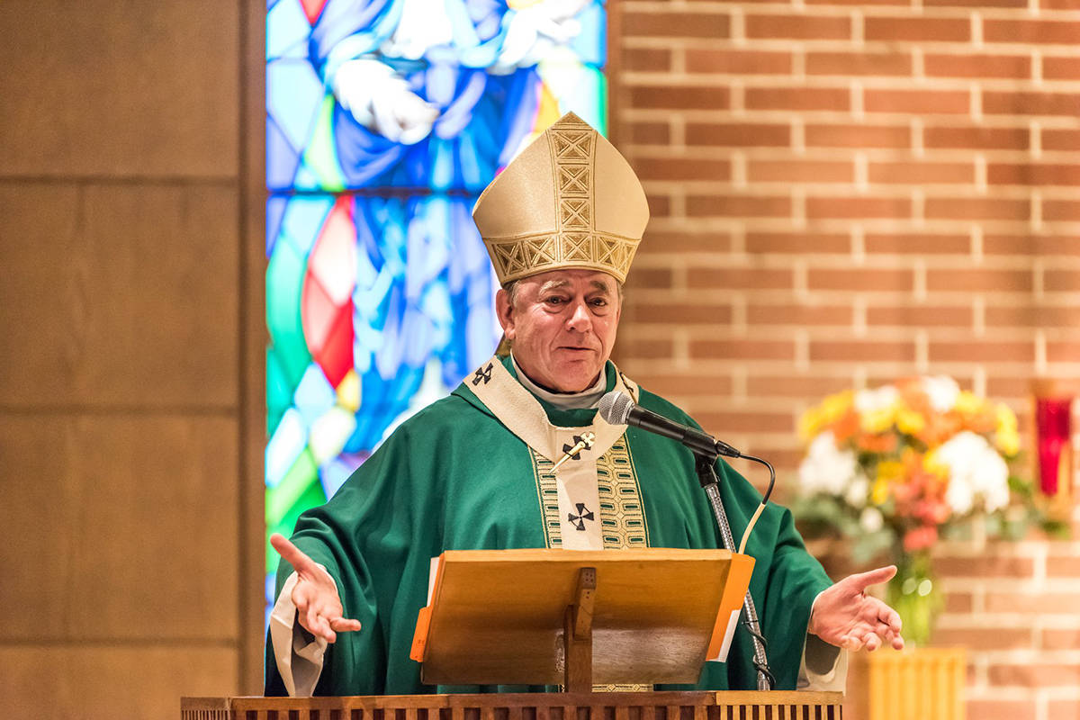 Archbishop J. Michael Miller has formally apologized for the role of the Roman Catholic Archdiocese of Vancouver in the residential school system. (Archbishop J. Michael Miller/Facebook)