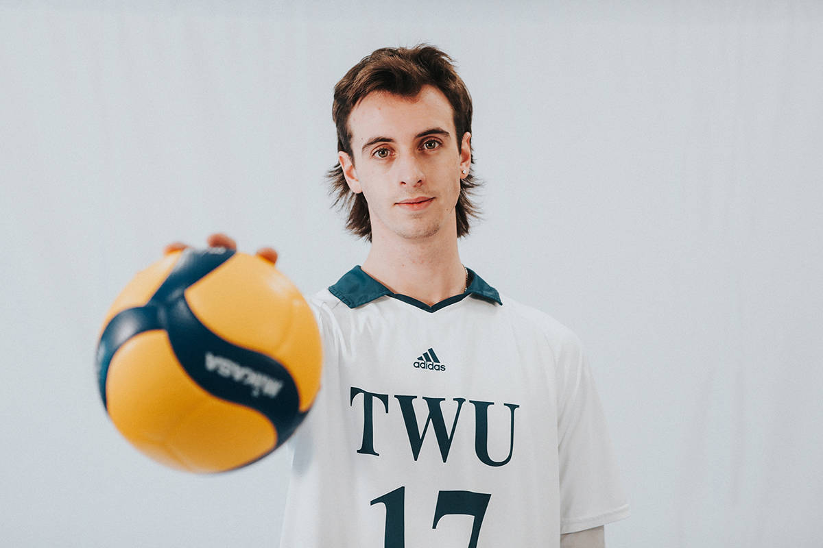 TWU's Liam Remple has been named to Canada's Indoor Men's U19 volleyball team for 2021. (Special to Langley Advance Times)