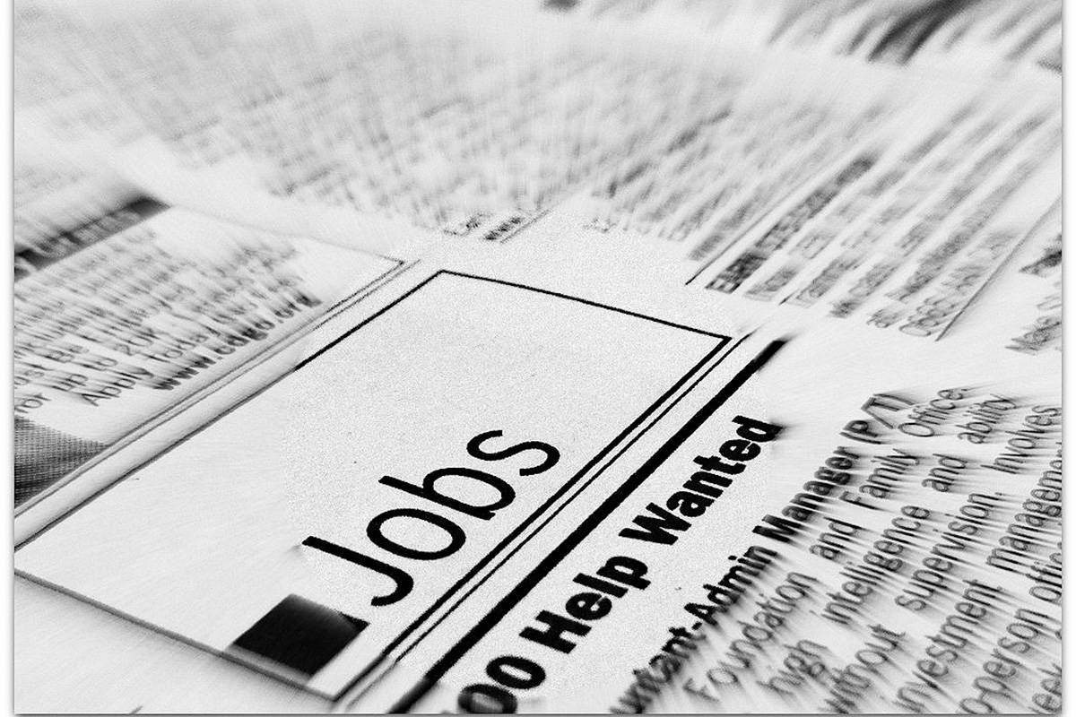 Canada's unemployment rate was 8.2 per cent in May, little changed from the 8.1 per cent in April , according to Stats Canada. (File photo)