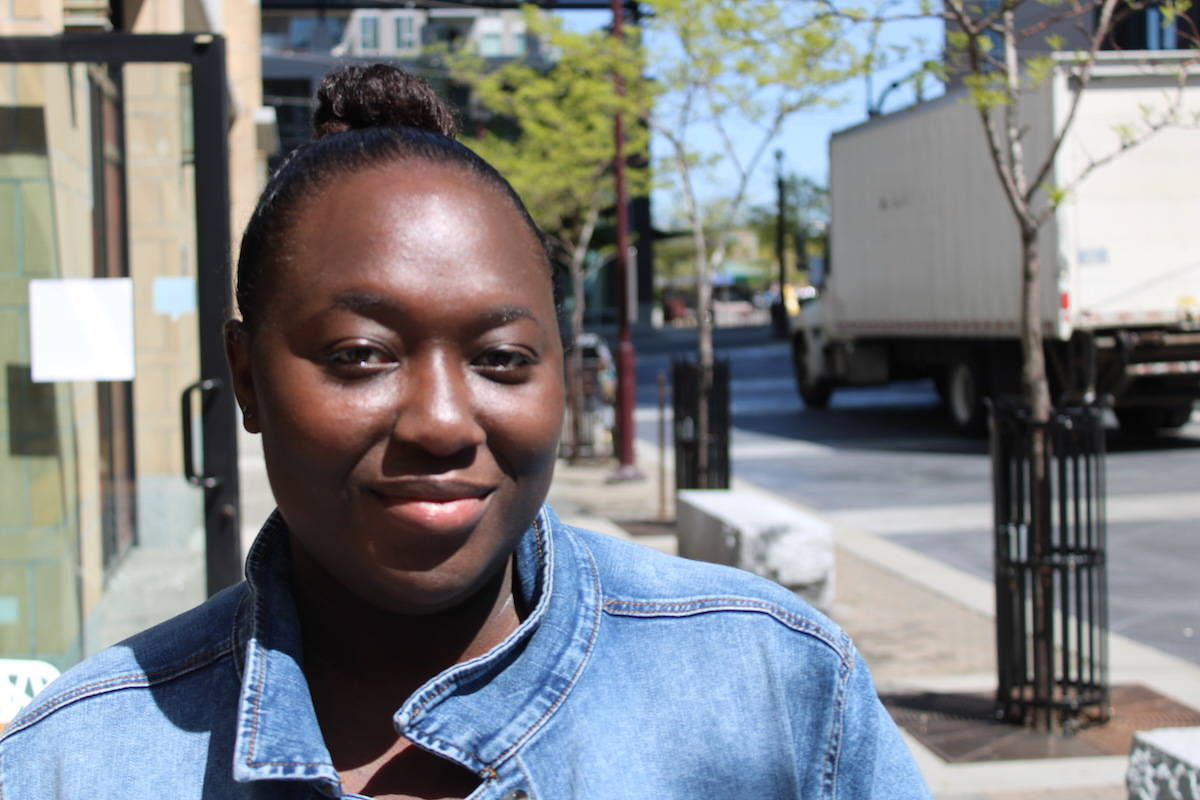 Assetou Coubily is sharing her negative experience at Royal Jubilee Hospital on May 10, where she frets her race played into the care she received. (Jake Romphf/ News Staff)