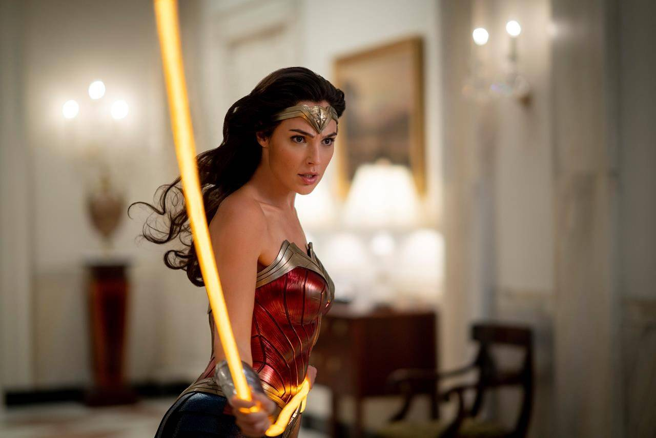 This image released by Warner Bros. Entertainment shows Gal Gadot in a scene from Wonder Woman 1984. What is Wonder Woman's civilian name? (Clay Enos/Warner Bros. via AP)