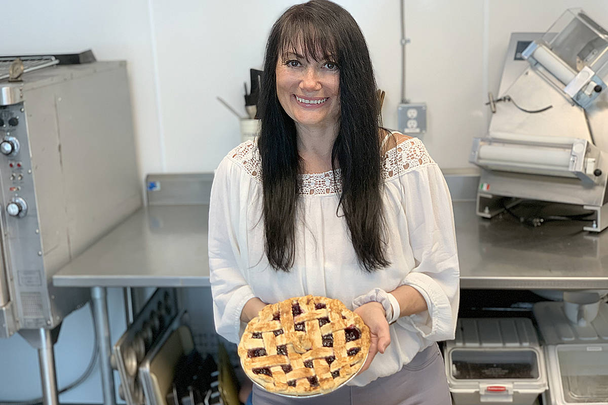 Dale Cull has partnered with Langley's Maritime Seafoods to bake and sell Father's Day pies to benefit cancer research. (Special to Langley Advance Times)
