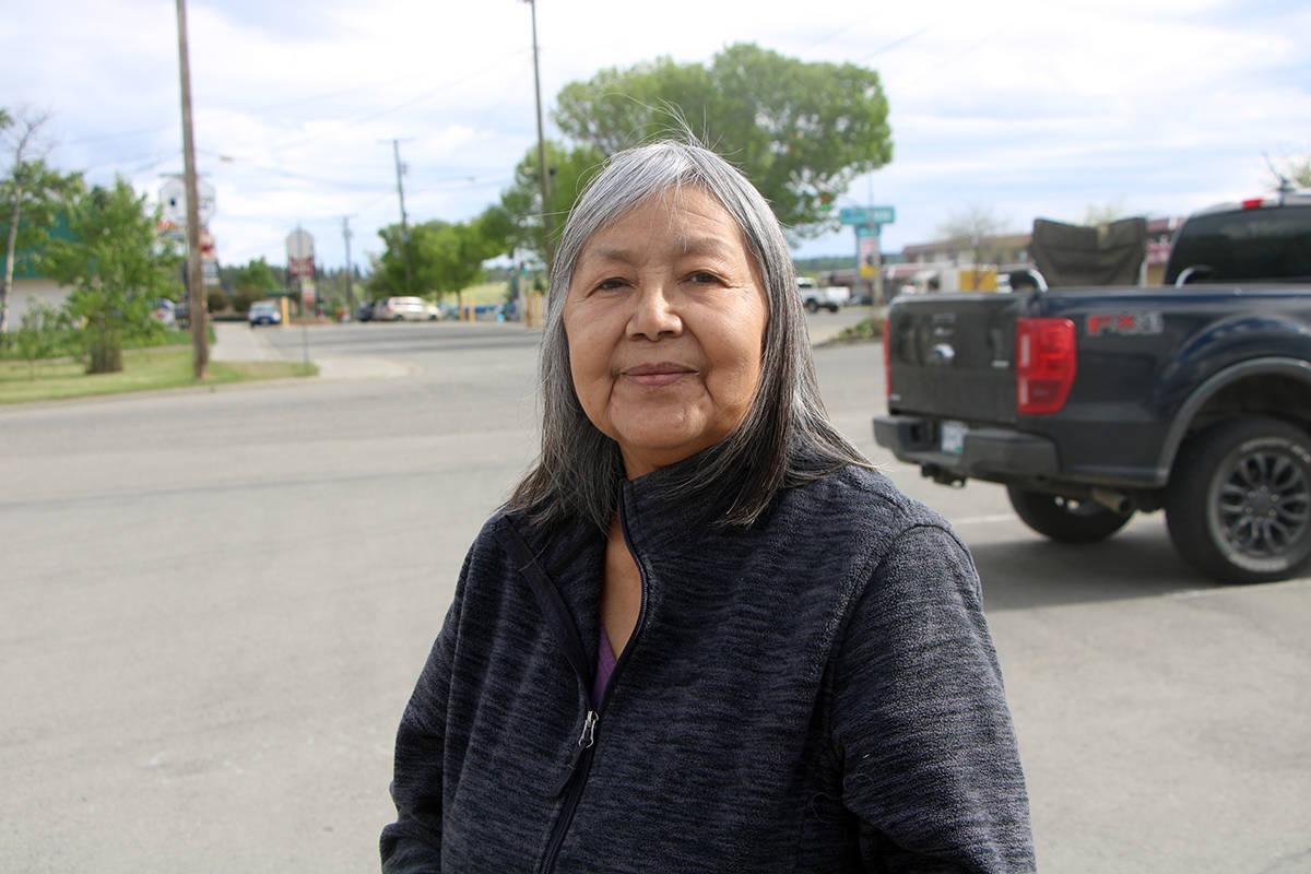 Elizabeth Pete is a survivor of St. Joseph's Mission in Williams Lake. (Patrick Davies photo - 100 Mile Free Press)