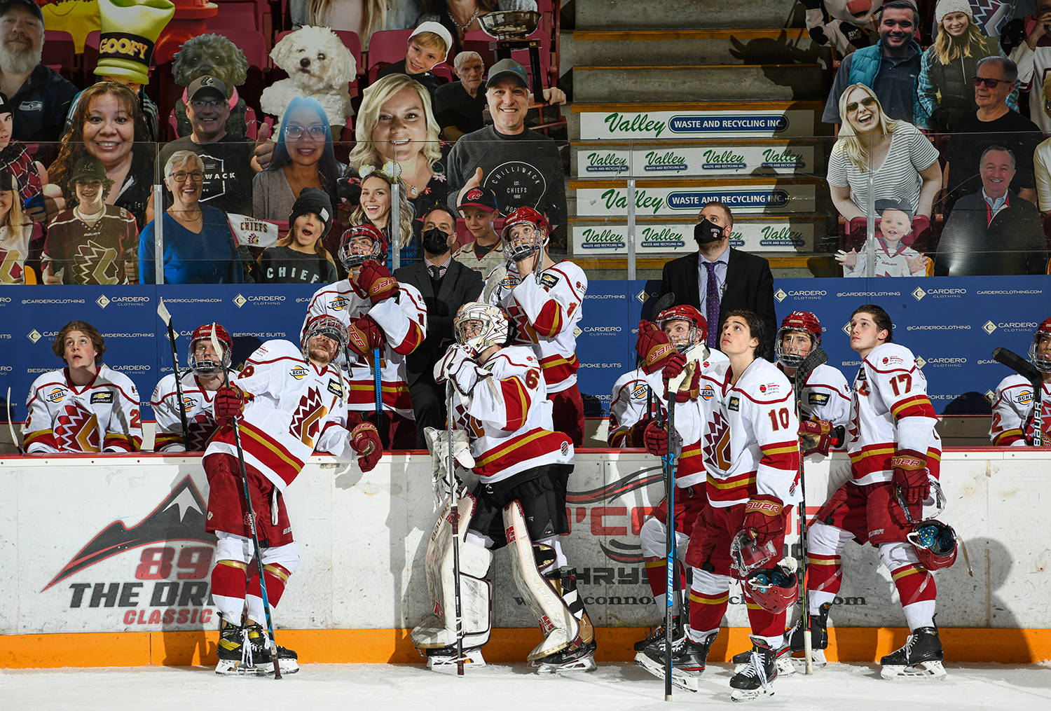 The BC Hockey League announced that the 2021-'22 season will begin in October, with teams playing 54 games each. (Darren Francis photo)