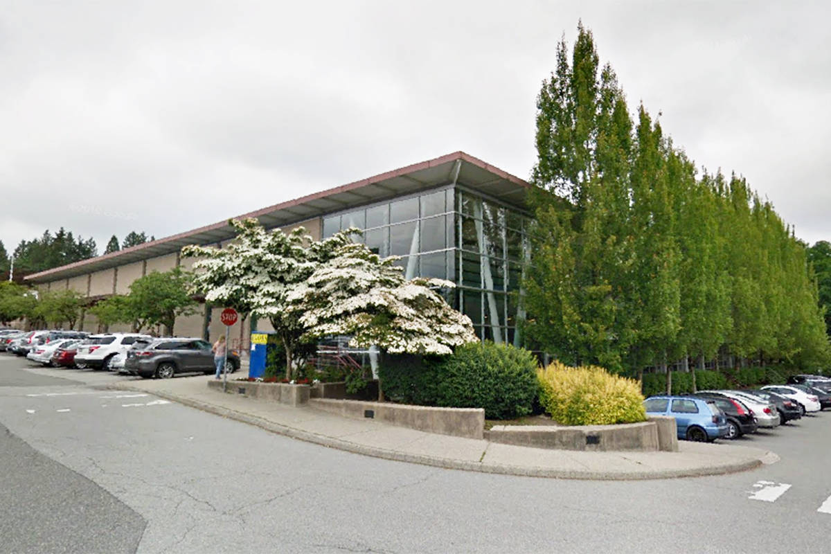 Langley Township has free swimming for seniors at its pools during Seniors Week 2021. (Google Maps screen capture)