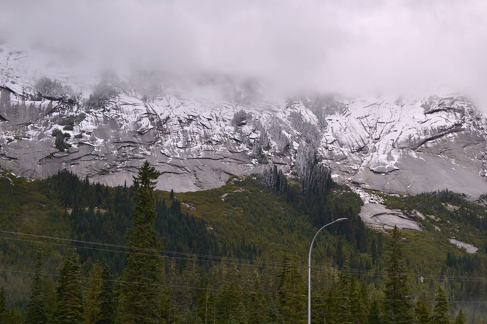 The snow pack levels for the province were slightly above normal, according to the June 1 measurements. (Contributed)