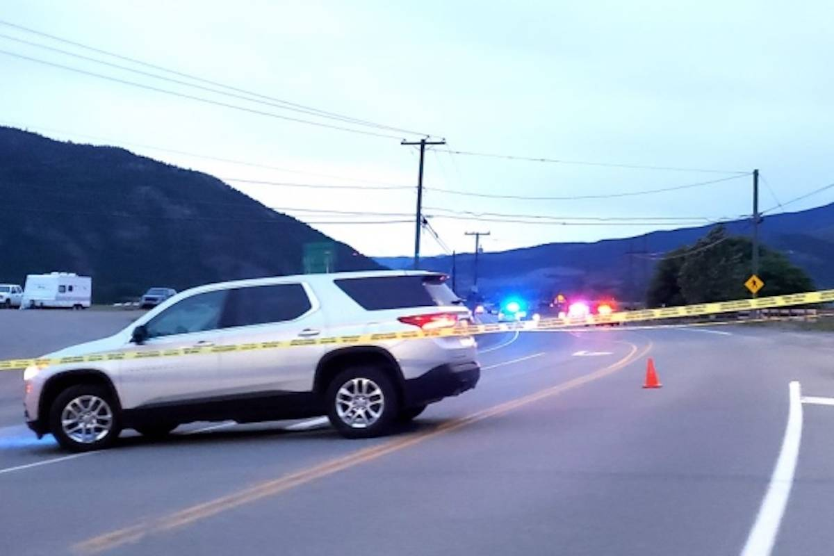 According to police, upon the attempt at a traffic stop in Merritt on June 6, 2021, the driver of the vehicle immediately fled the scene, prompting the responding officer to notify dispatch. (Kamloops This Week)