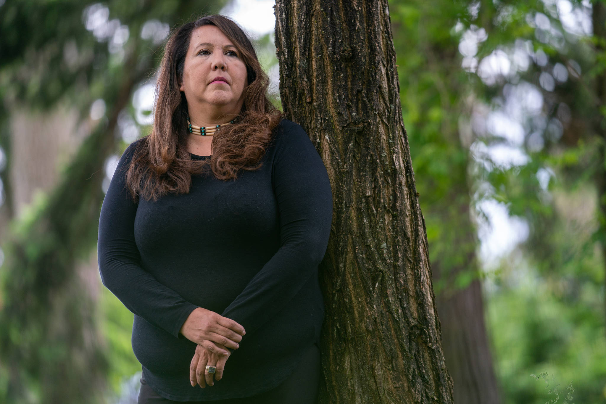Tina Taphouse is pictured in Langley, B.C., Monday, June 7, 2021. THE CANADIAN PRESS/Jonathan Hayward