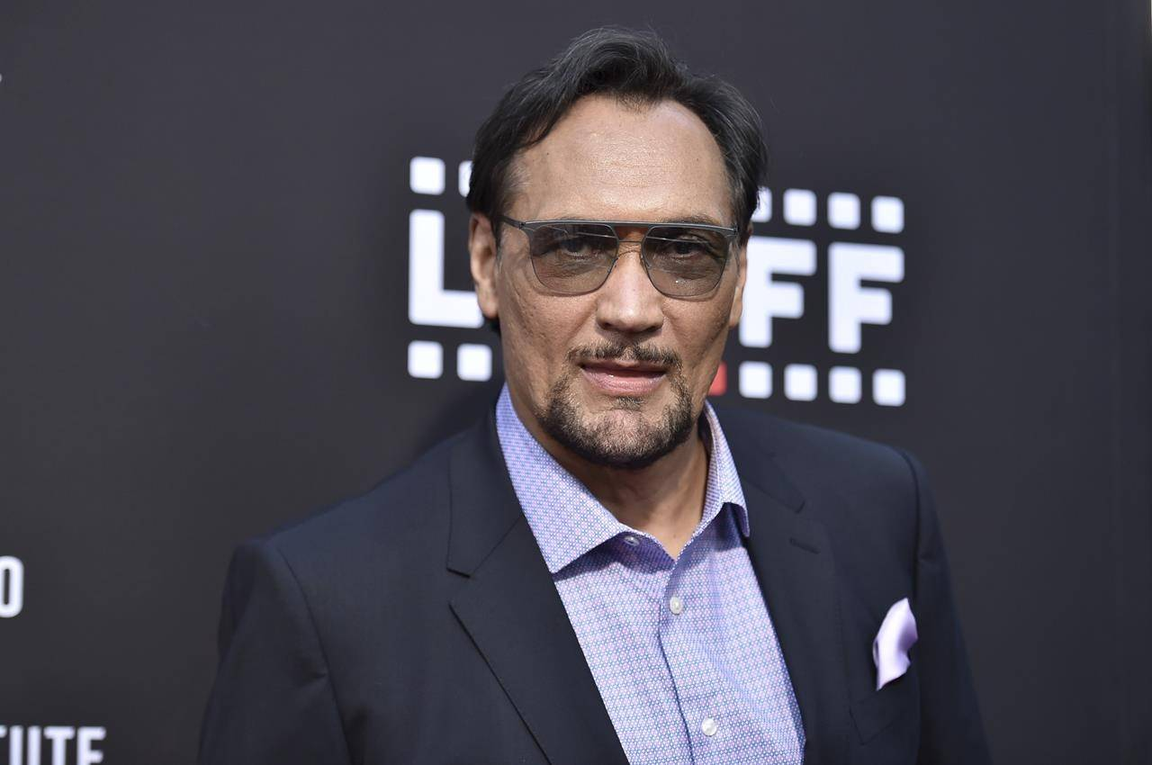 """Jimmy Smits arrives at a special screening of """"In the Heights"""" during the Los Angeles Latino International Film Festival at the TCL Chinese Theatre on Friday, June 4, 2021. (Photo by Richard Shotwell/Invision/AP)"""