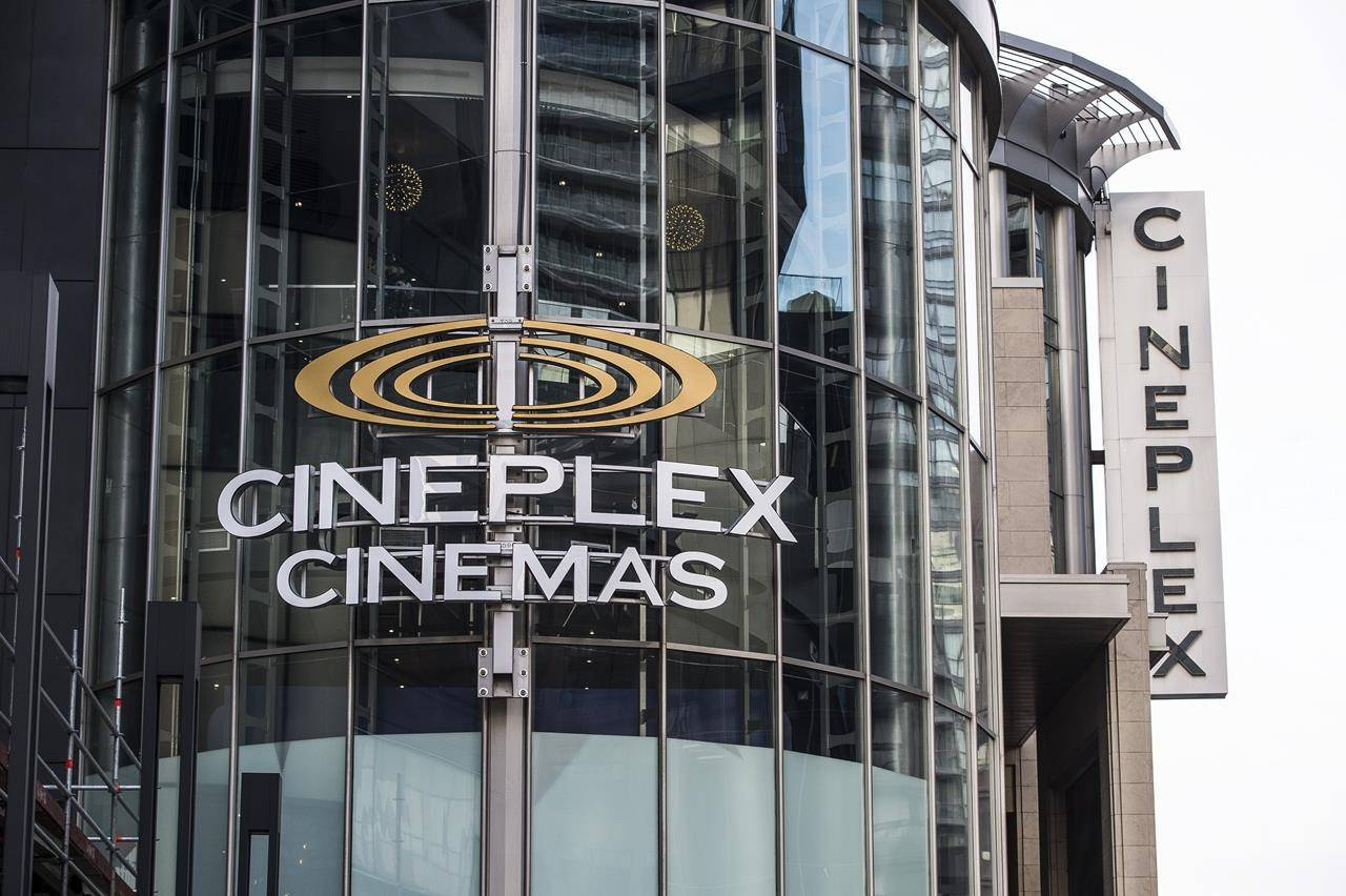 The Cineplex Odeon Theatre at Yonge and Eglinton in Toronto is shown on December 16, 2019.THE CANADIAN PRESS/Aaron Vincent Elkaim