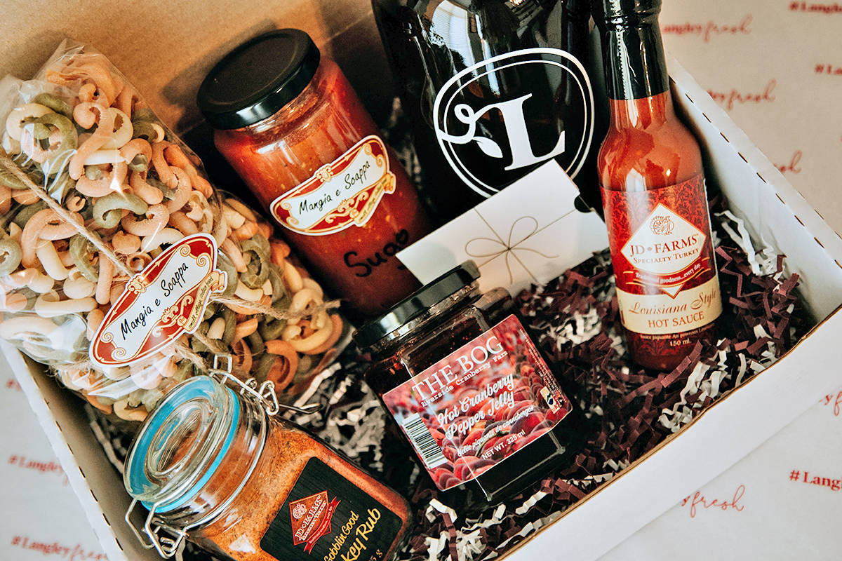 Tourism Langley has put together Father's Day gift boxes that support local businesses and aid the Langley Food Bank. (Special to Langley Advance Times)