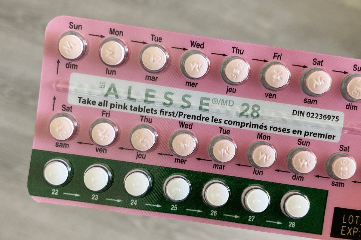 Individuals who took Alesse birth control pills between Jan. 1, 2017, and April 30, 2019, could be eligible to take part in a class-action lawsuit against the manufacturers. (Black Press Media files)