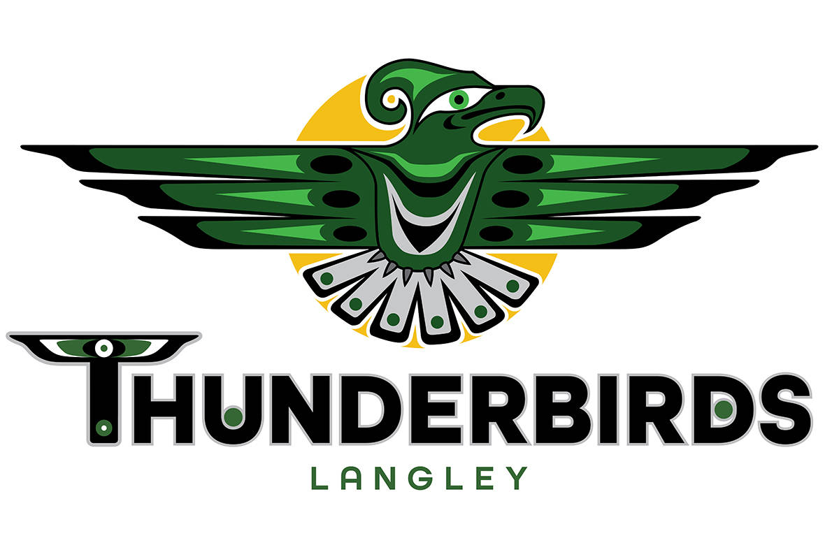 Langley Secondary School has renamed its teams from the Saints to Thunderbirds (Special to Langley Advance Times)