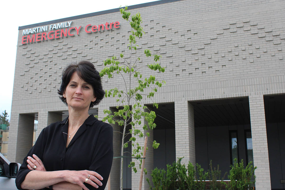 'Langley Memorial was created by the local community so there's a real sense of ownership among patients and staff,' says Heather Scott, executive director of Langley Memorial Hospital Foundation.