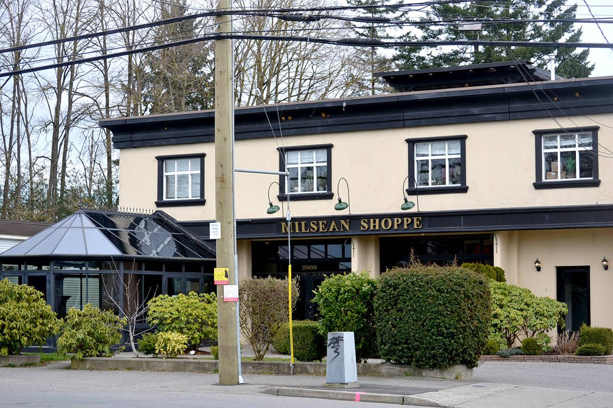 Langley Meals on Wheels new Aldergrove Neighbourhood Hub will be at the former Aldergrove Fire Hall and Milsean Coffee Shop at 2900 272nd Street. (Ryan Uytdewilligen/Aldergrove Star)