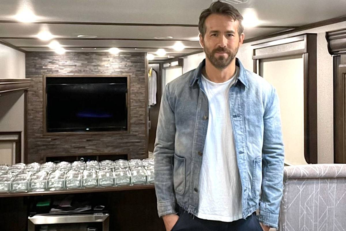 One hundred bottles of Aviation gin signed by Ryan Reynolds will be available at a Langley BC Liquor Store starting Saturday. (Twitter/Ryan Reynolds)