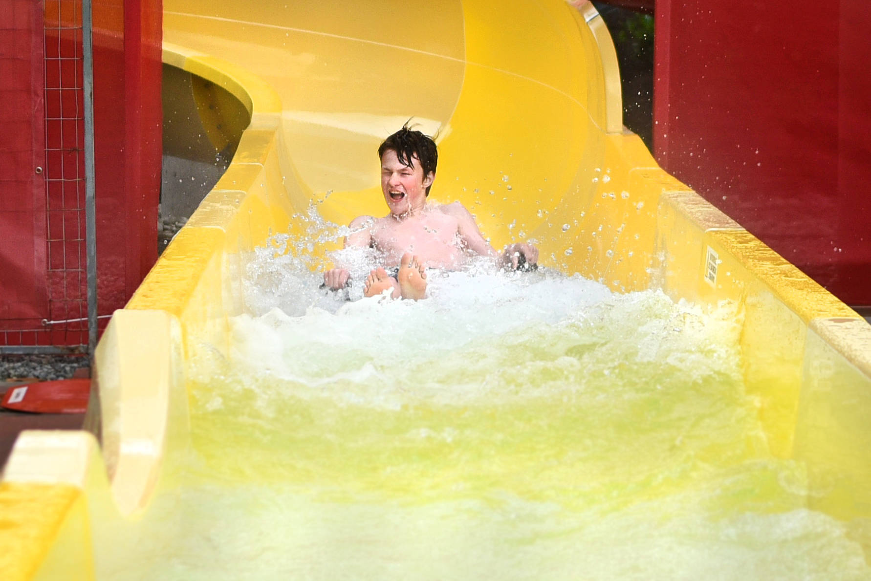 It's been a while since anyone got to use the slides at Aldergrove's pool, but the Outdoor Experience Waterpark could be up and running again by July. (Langley Advance Times files)