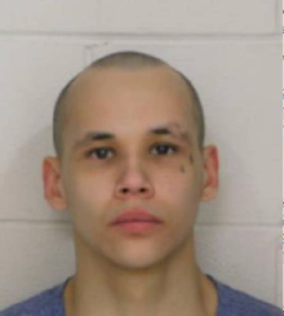 """Name: LITTLECROW, Raven Age: 22 Height: 5'5"""" ft Weight: 169 lbs Hair: Black Eyes: Brown Tattoos: Cheek – Cross (left eye) Wanted: Canada Wide Warrant – Escape Lawful custody Warrant in effect: June 8, 2021 Parole Jurisdiction: Abbotsford, BC"""