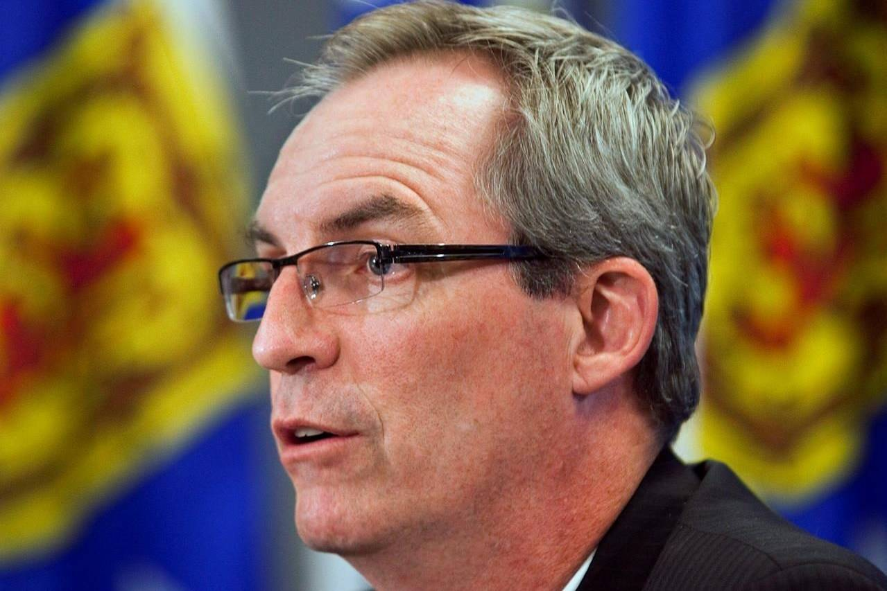 Ron MacDonald fields questions at a news conference in Halifax on Sept. 27, 2011. THE CANADIAN PRESS/Andrew Vaughan