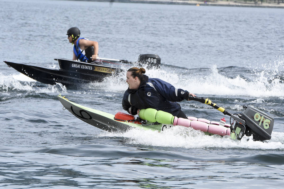 The Great Ogopogo Bathtub Race has been held in Summerland as a fundraising event. Do you know which Canadian city introduced this sport? (Black Press file photo)
