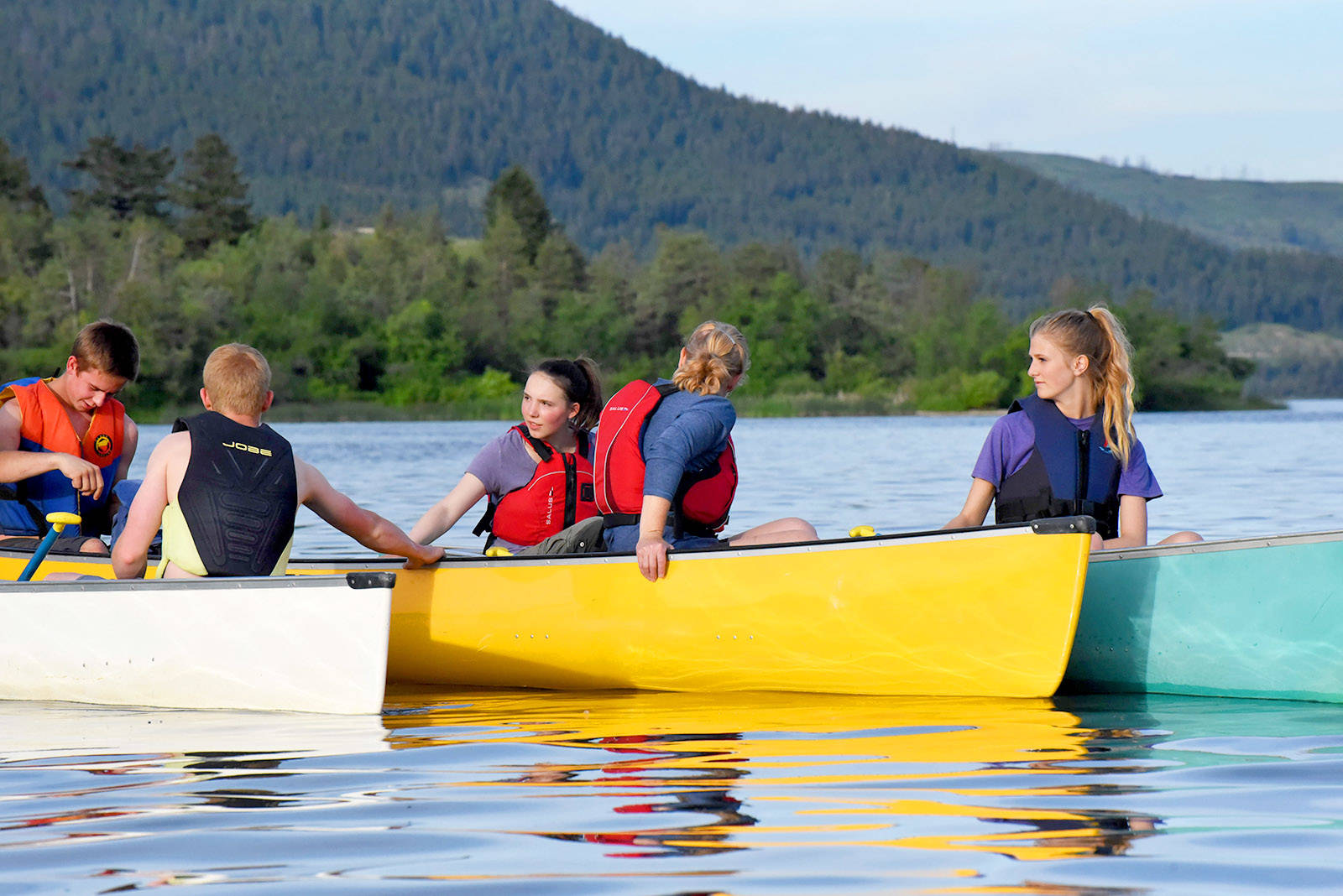 Canoes can provide graceful transportation on the water, although they are not the swiftest watercraft. Do you know the fastest speed obtained on water? (Black Press file photo)