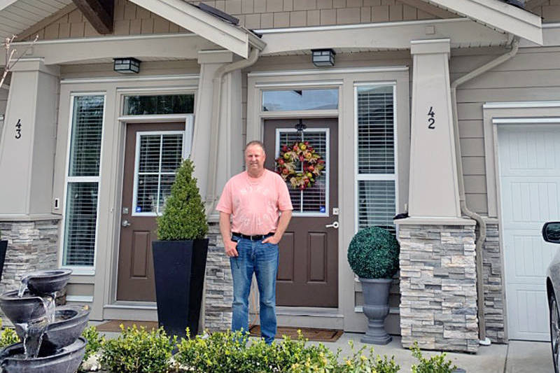 Last year, strata president Rob Parker and his fellow owners were facing huge increases. This year, rates are down somewhat and owners are breathing a little easier. (Langley Advance Times files)