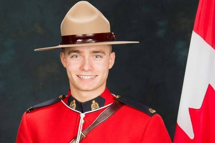 RCMP Const. Shelby Patton is shown in this undated handout photo. RCMP say that Patton was hit by an allegedly stolen truck that he had pulled over on Saturday morning in Wolseley, east of Regina. THE CANADIAN PRESS/HO, RCMP