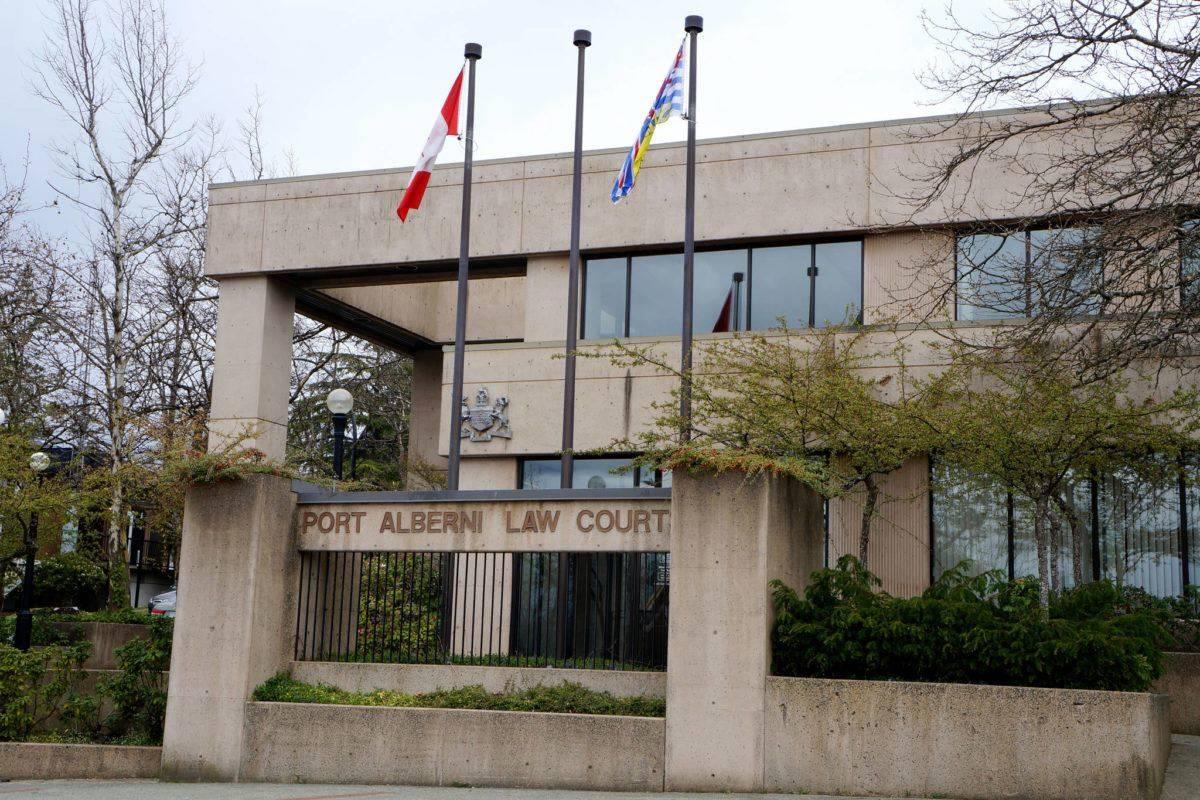 Port Alberni court house (Alberni Valley News)