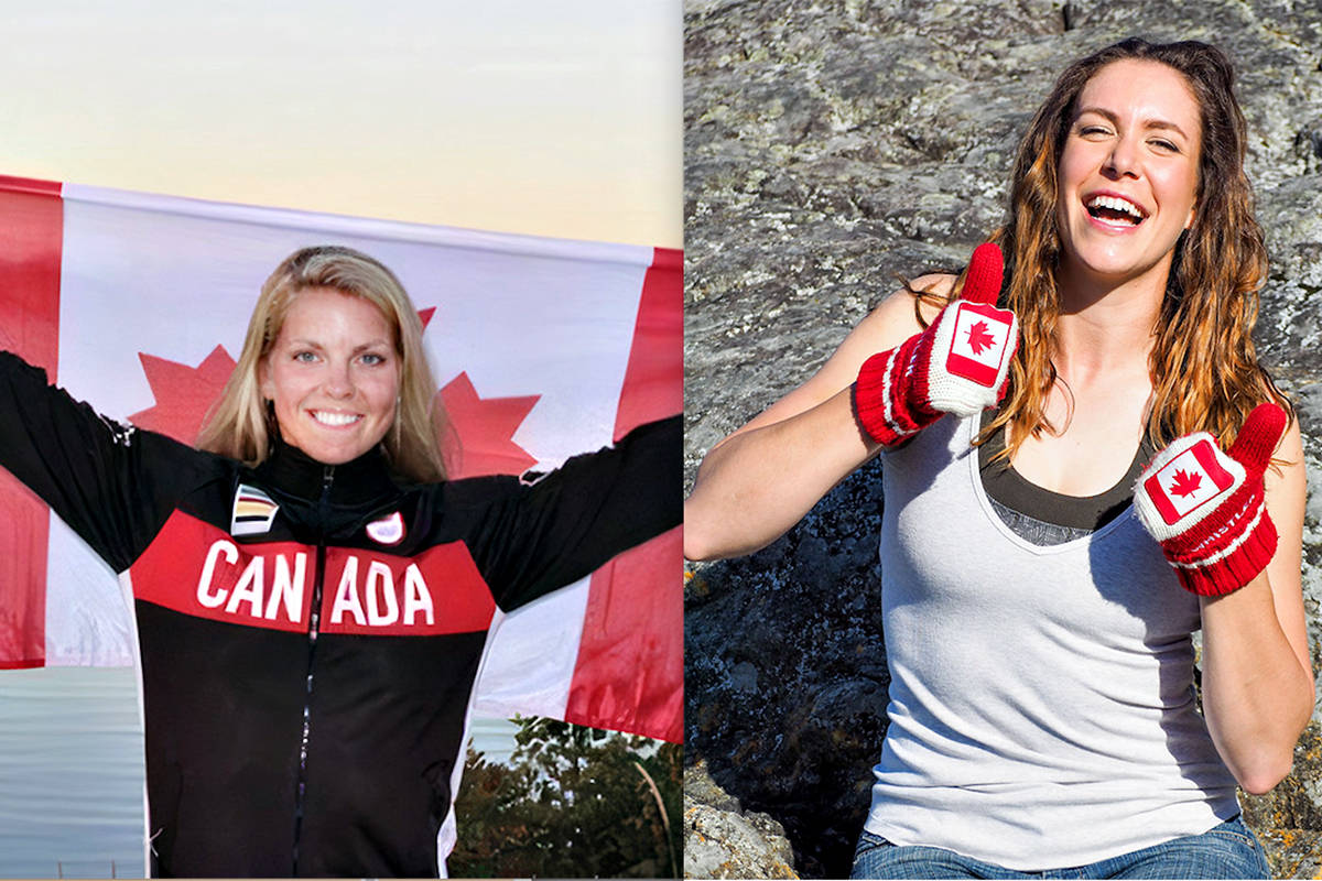Langley's Lisa Roman (L) and Andrea Proske will be rowing for Canada. (file)