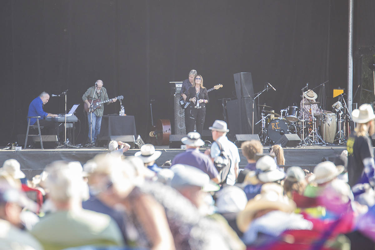 Rita Coolidge played the main stage at Vancouver Island Musicfest in 2017. (Black Press file photo)