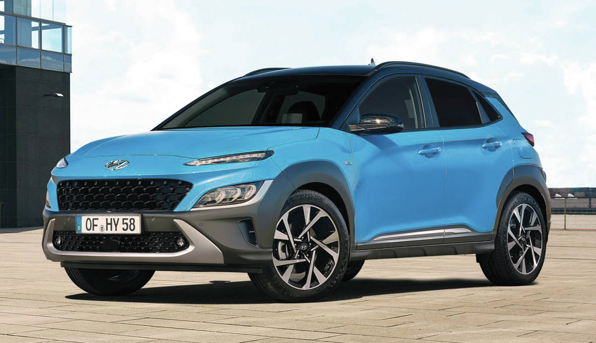 Hyundai will equip the Kona N with a 247-horsepower turbocharged four-cylinder, which should be good for a zero-to-60-mph (96 km/h) time of 5.1 seconds. PHOTO: HYUNDAI