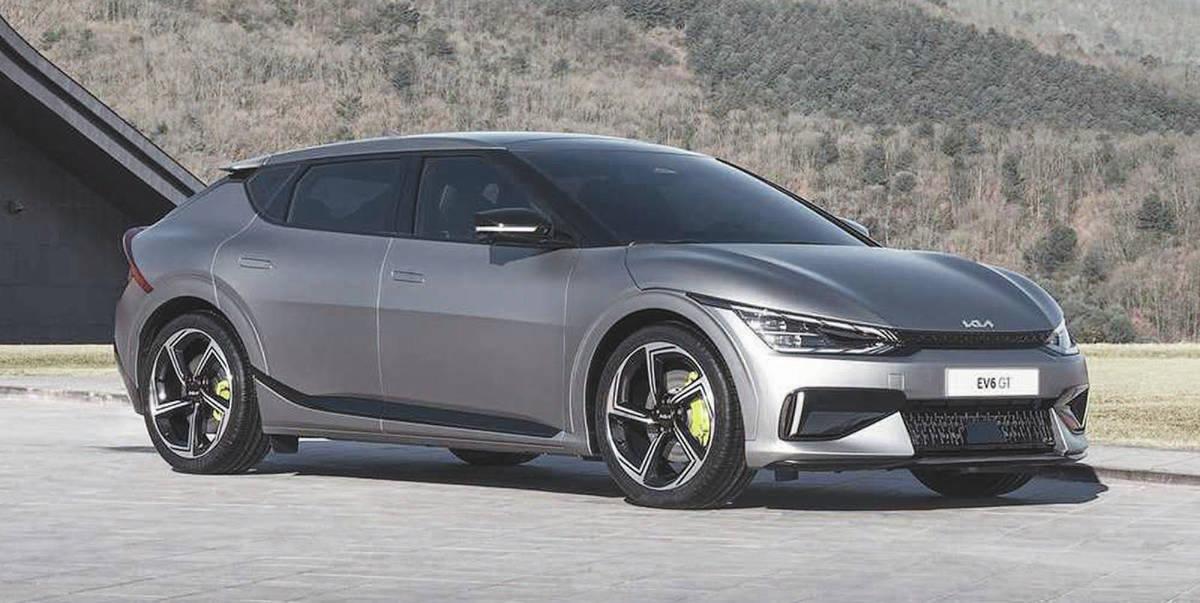 The Kia EV6 uses the same EV platform and powertrain as the Hyundai Ioniq 5. PHOTO: KIA
