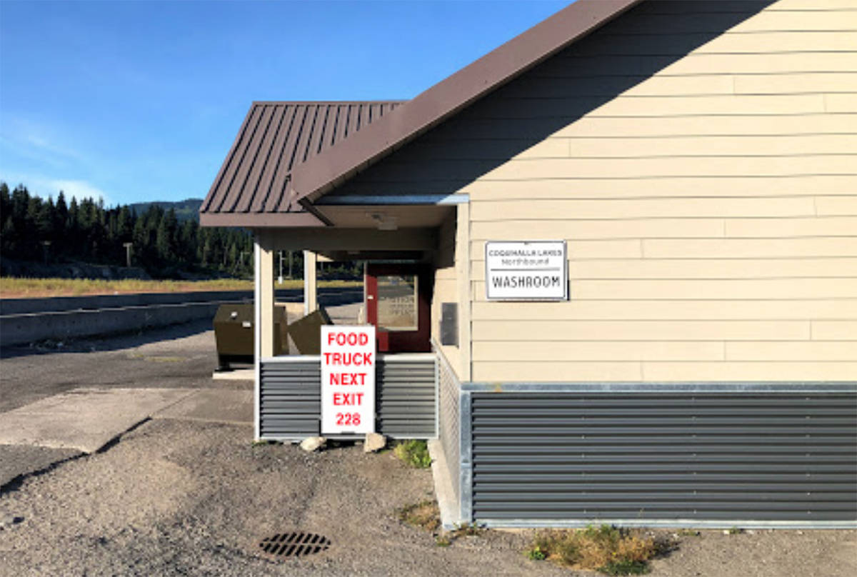 The Coquihalla Lakes washroom is getting upgrades. (Submitted)