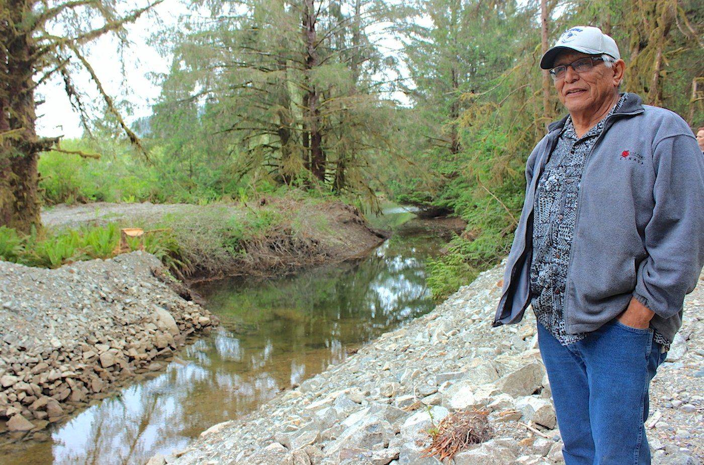 By protesting uninvited in First Nations' territories, conservationists are acting in a neocolonial or paternalistic manner, says Huu-ay-aht Chief Robert Dennis. Photo by Heather Thomson