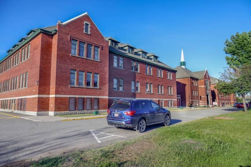 The former Kamloops Indian Residential School on the Tk'emlups te Secwépemc reserve. (Allen Douglas/Kamloops This Week)