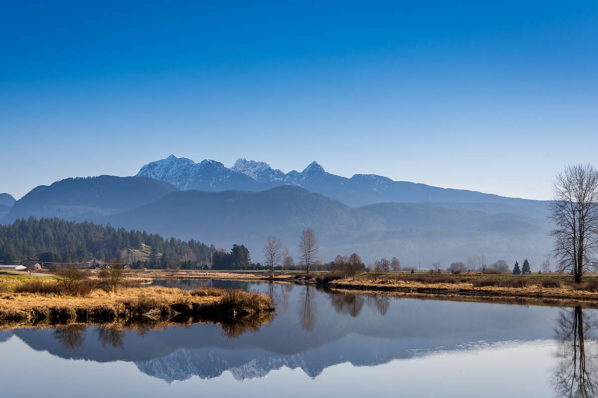 Golden Ears Mountains, captured in May 2021. (Black Press Media files)
