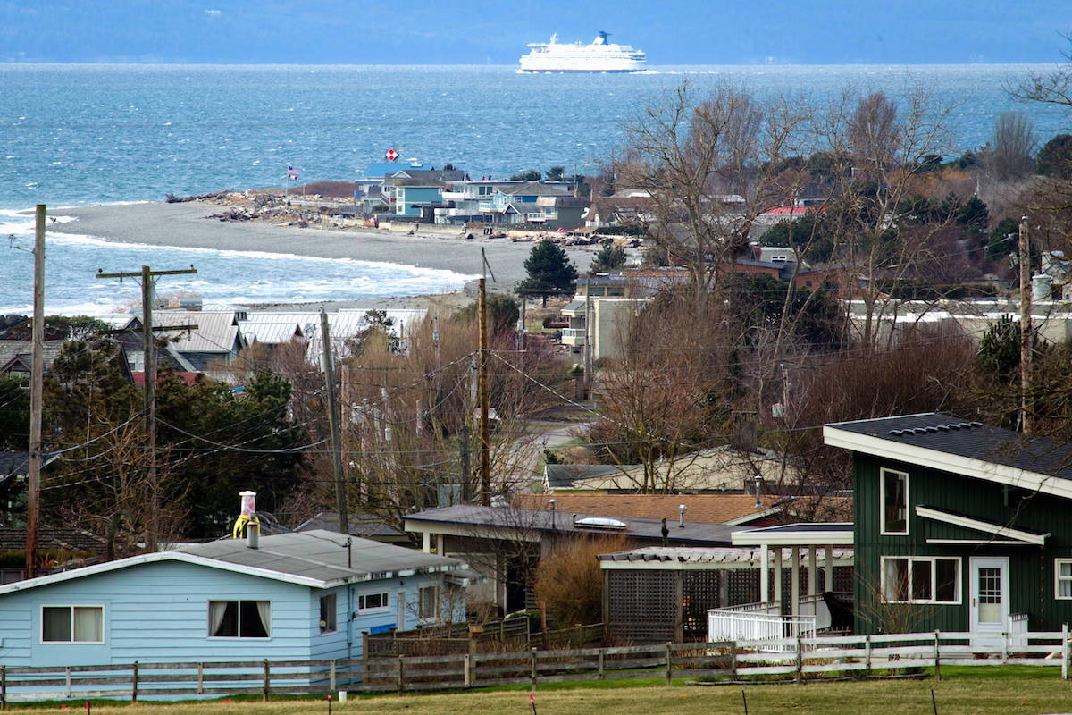 Point Roberts is part of the mainland United States but not physically connected to it, to reach the community by land one must pass through Canada. THE CANADIAN PRESS/Darryl Dyck