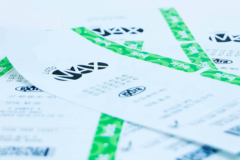 One ticket sold in British Columbia and one in Ontario will share the $70 million Lotto Max grand prize. (BCLC image)