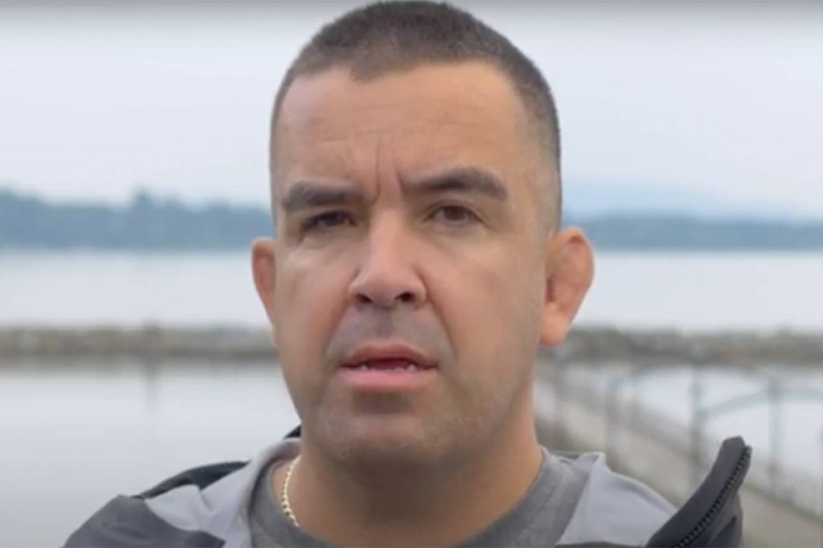 Semiahmoo First Nation Chief Harley Chappell says his role as a member of the new Surrey Police Service board of directors offers an opportunity to help policing in the community 'move forward' in terms of its interactions with the city's First Nations people. (City of White Rock)