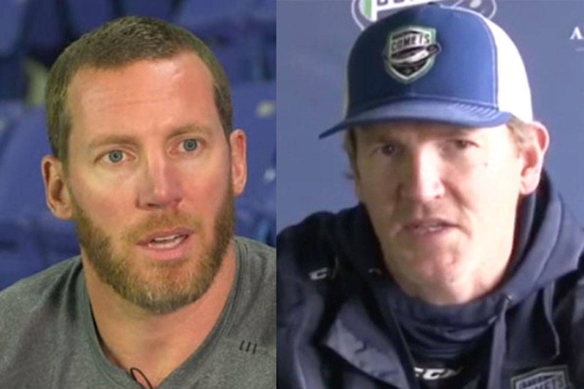 The Vancouver Canucks will be bringing general manager Ryan Johnson and head coach Trent Cull to Abbotsford to retain their positions from last season. (YouTube)
