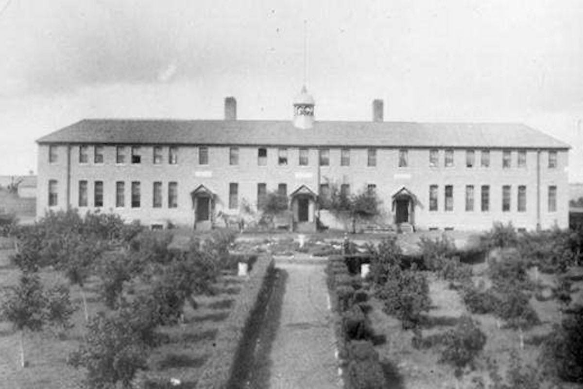 The former Marieval Indian Residential School. Twitter.