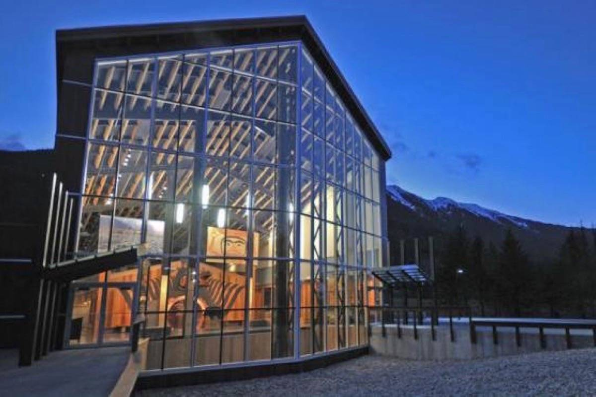 Nisga'a Museum in the B.C. Northwest is among the Indigenous tourism projects funded for improvements by the province's COVID-19 recovery fund. (Nisga'a Lisims Government photo)