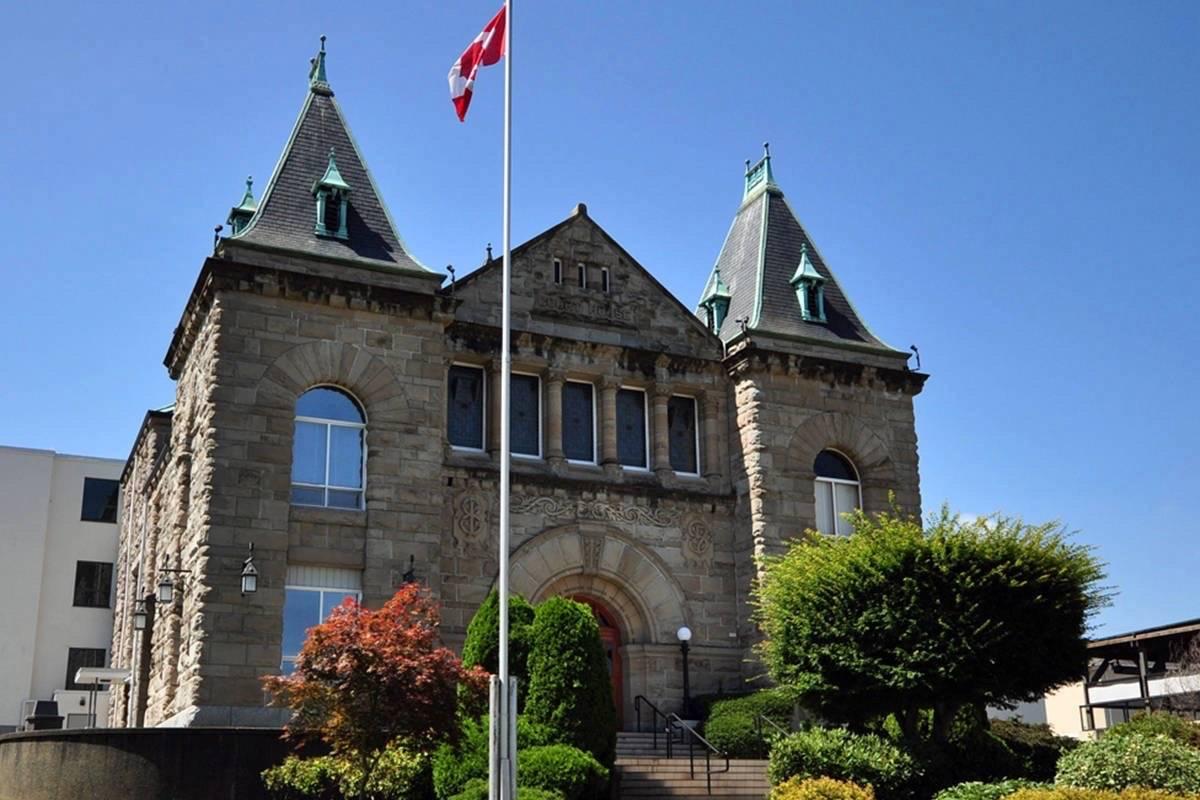 Nanaimo Law Courts. (PQB News file photo)
