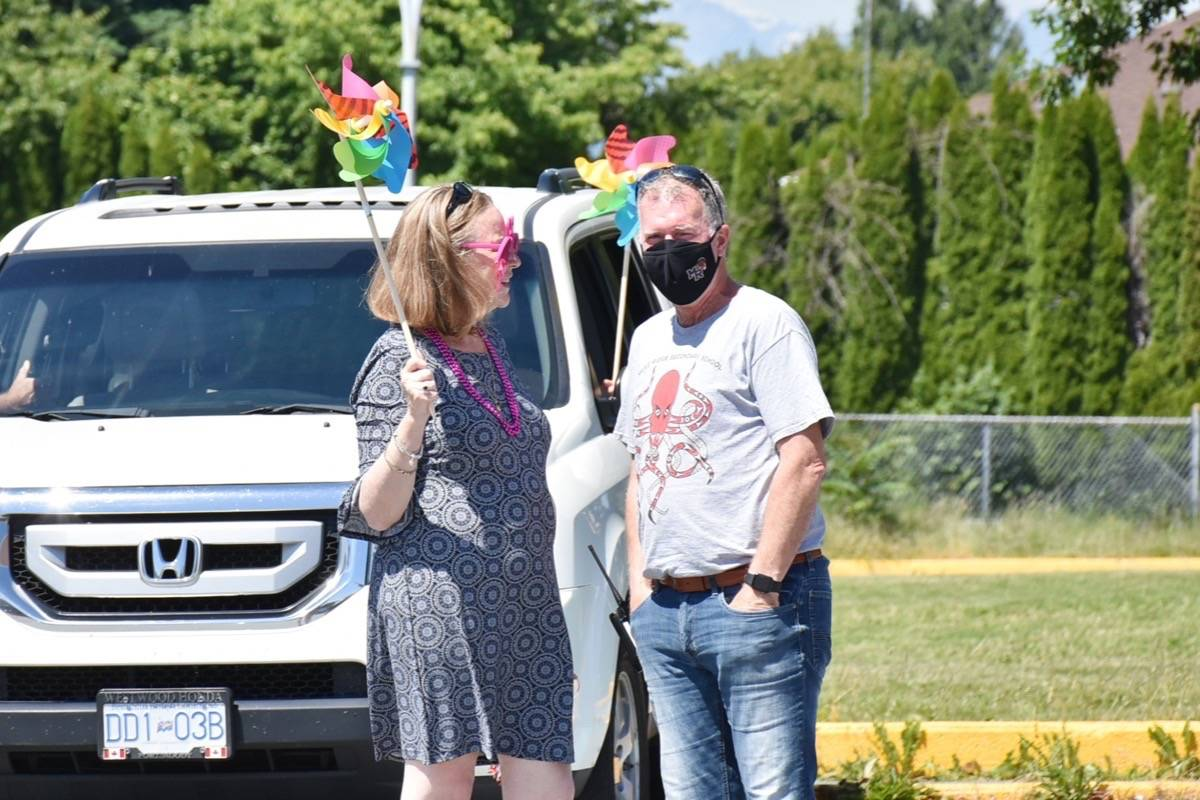 Maple Ridge secondary principal Trevor Connor is retiring at the end of this school year. (Colleen Flanagan/The News)